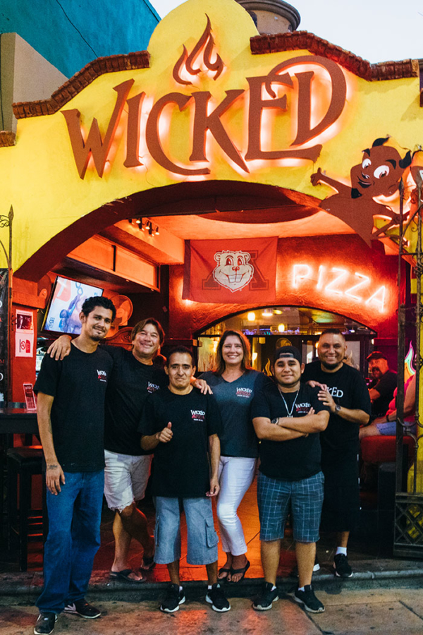 Wicked Pizza One Crew