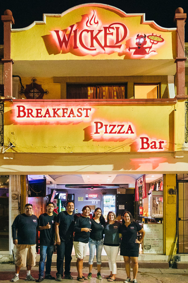Wicked Pizza Two Crew