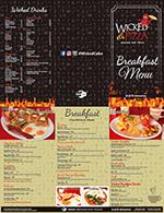 Wicked Pizza Menu Breakfast thumbnail